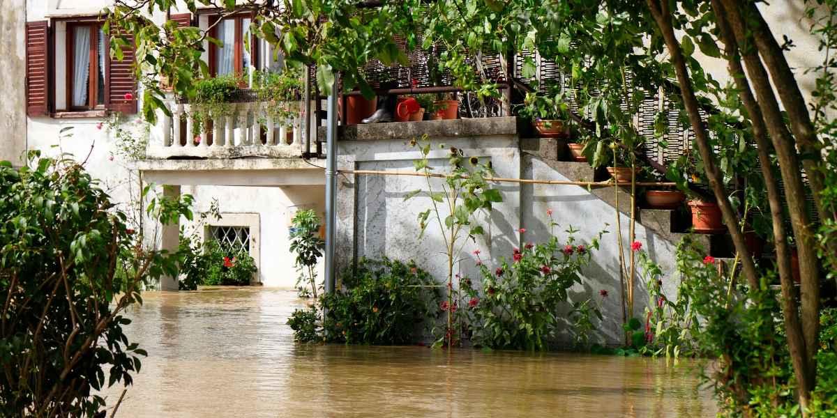 שיקום נזקי מים לאחר הצפה מסביב לבית
