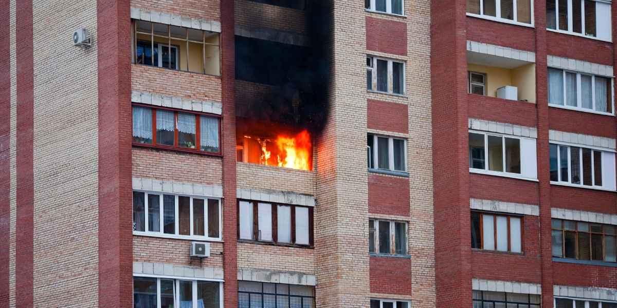 שריפה בדירה עם שמאי נזקי אש